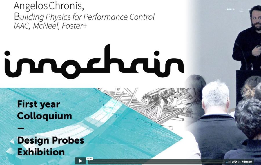 Innochain Colloquium Presentation – Integrating Building Physics for Performance Control