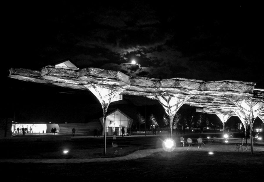 The Elytra Filament Pavilion at the Vitra Campus