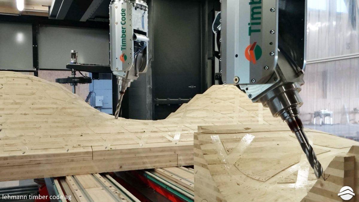 ESR14 – Visit to Blumer Lehmann and Timber Code, Feb. '16