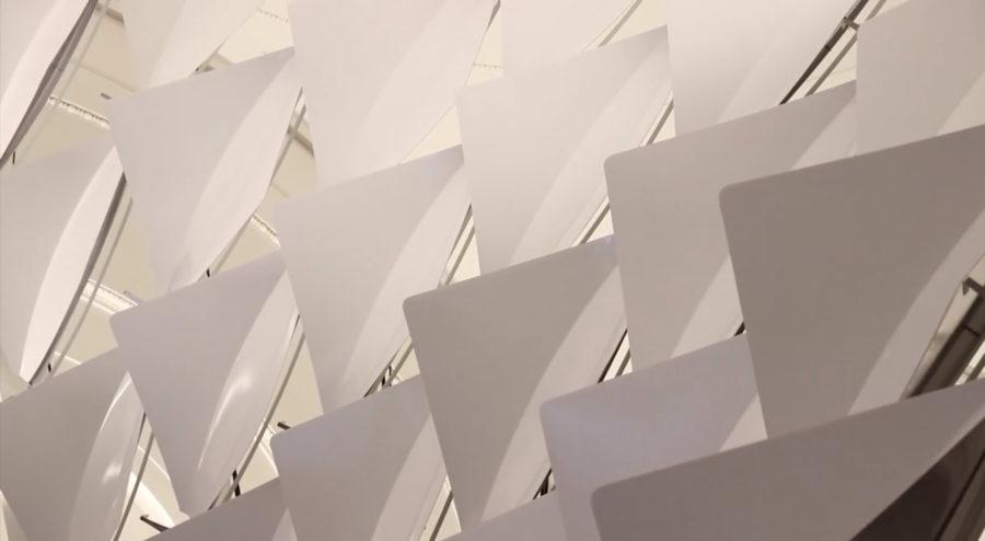FlectoFold Demonstrator / BauBionik Exhibition / Stuttgart