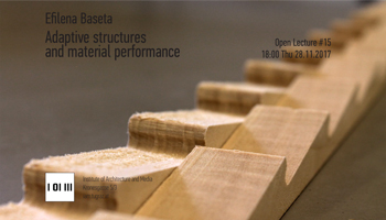 Open Lecture TU Graz : Adaptive structures and material performance