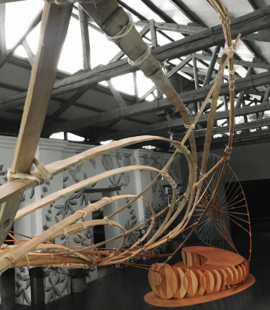 COMPUTATIONAL BAMBOO INSTALLATION AT THE MUSEUM OF INTERACTIVE SCIENCE IN QUITO